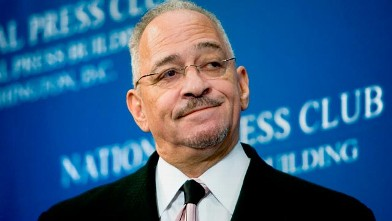 PHOTO: Reverend Jeremiah Wright, senior pastor of the Trinity United Church of Christ in Chicago, pauses during a speech at the National Press Club in Washington, D.C. in this April 28, 2008 file photo.