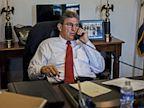 PHOTO: Joe Manchin in his office