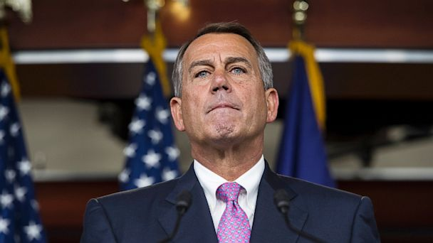 PHOTO: John Boehner press conference