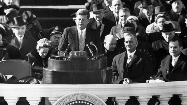 war politics and realism in the inaugural address of john f kennedy