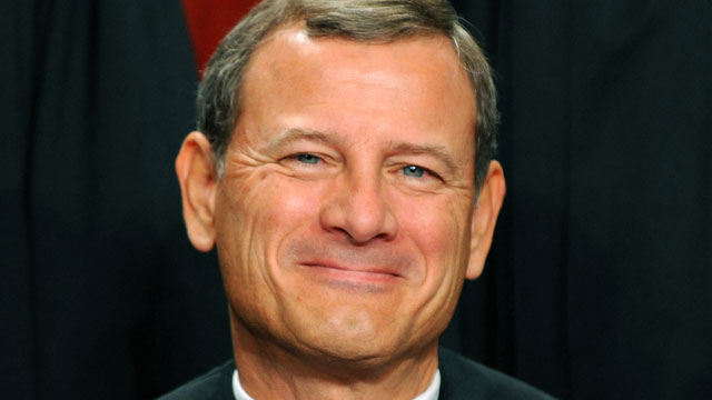 PHOTO: US Supreme Court Chief Justice John G. Roberts participates in the courts official photo session, Oct. 8, 2010 at the Supreme Court in Washington, DC.