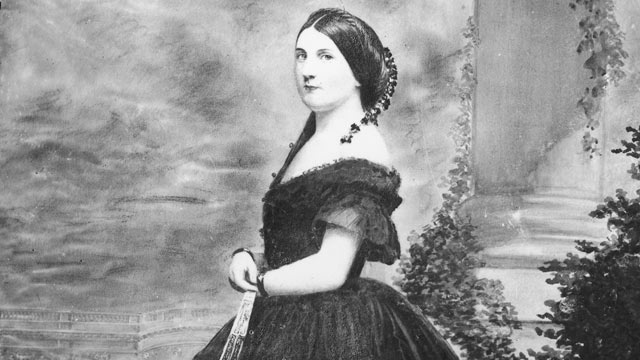 PHOTO: Portrait of Harriet Lane, circa 1860s.Miss Lane acted as the First Lady while her uncle, James Buchanan, was president.
