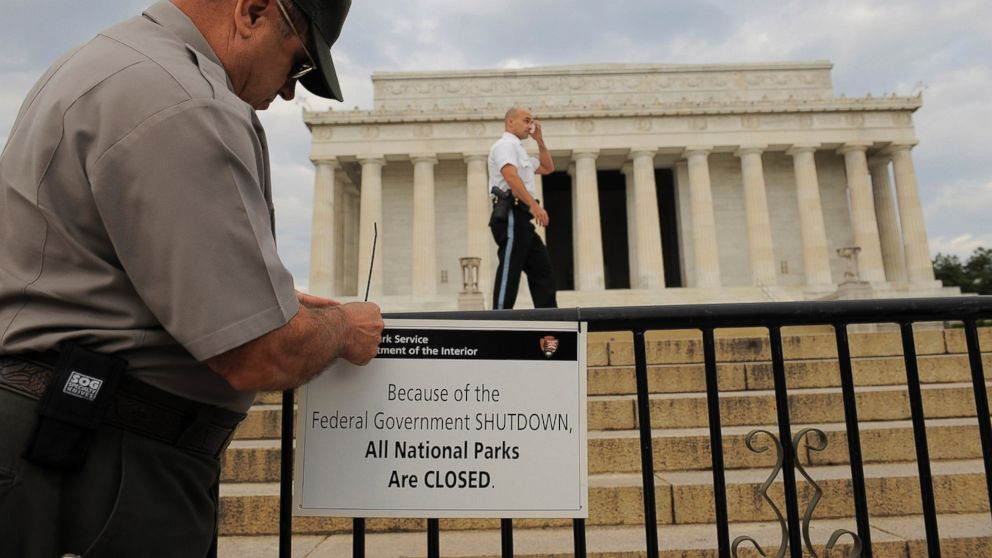 what the government shutdown affects