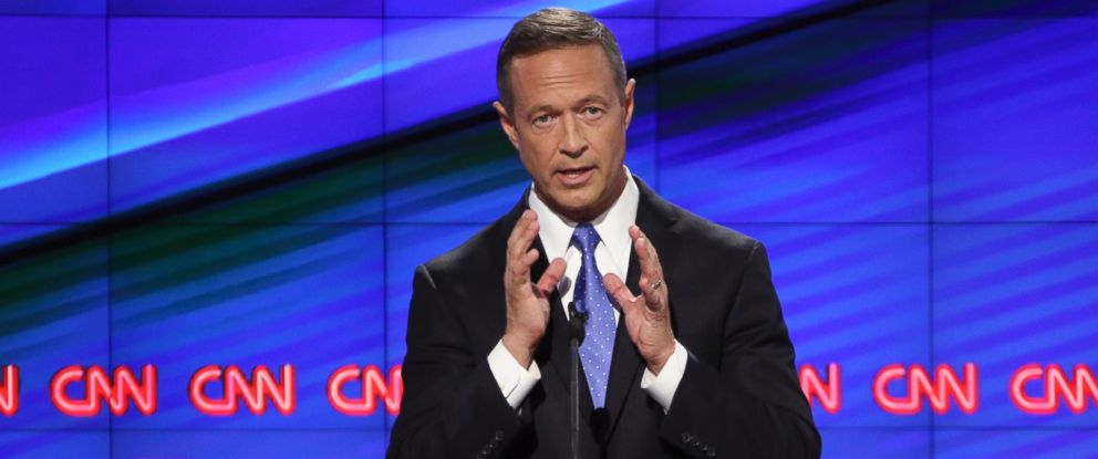 PHOTO: Martin OMalley, former governor of Maryland, participates in the first Democratic presidential debate in Las Vegas, Oct. 13, 2015.
