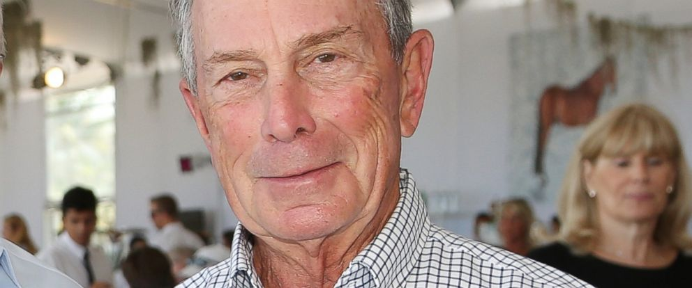 PHOTO: Michael Bloomberg at the Longines Global Champions Tour of Miami Beach in Miami Beach, Florida, April 9, 2016.