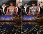 PHOTO: Iranian News Agency Fars photoshopped Michelle Obamas Oscar dress, Feb. 25, 2013.