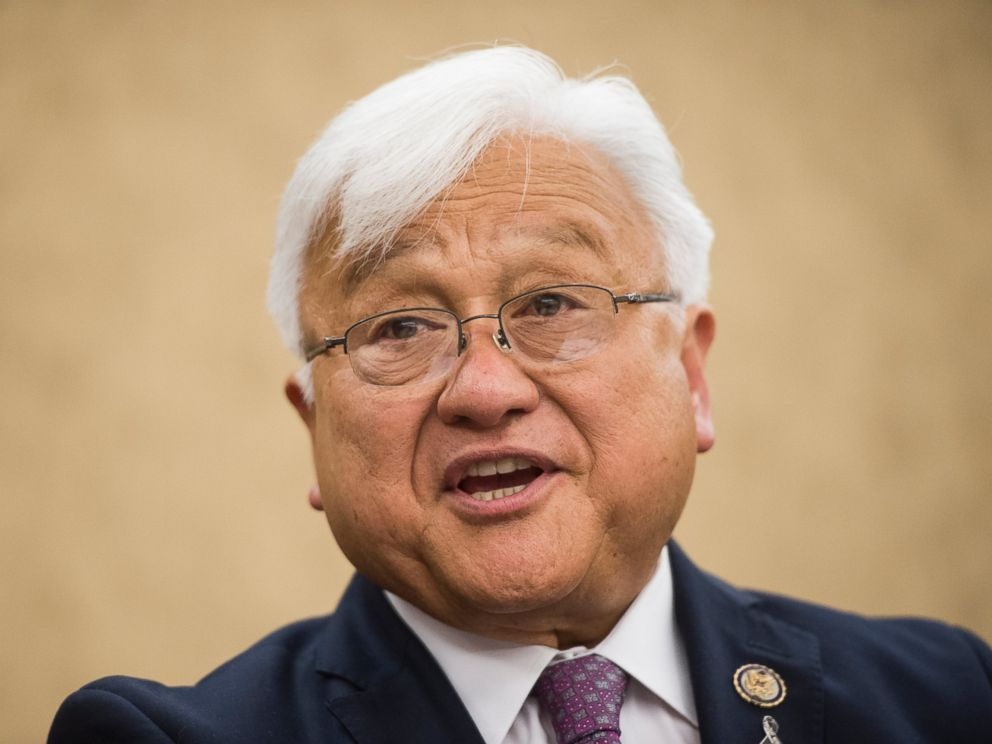 PHOTO: Rep. Mike Honda, D-Calif., holds a news conference with Vietnam veterans and their families to introduce the Toxic Exposure Research and Family Support Act of 2014, June 10, 2014.