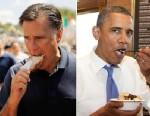 PHOTO: Mitt Romney and Barack Obama