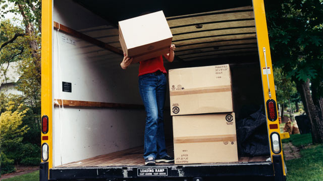 PHOTO: IRS Topic 455 states, ?If you moved due to a change in your job or business location, or because you started a new job or business, you may be able to deduct your reasonable moving expenses but not any expenses for meals.?