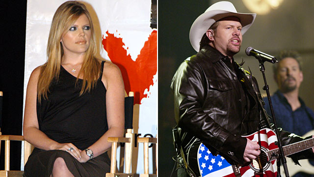 PHOTO: Natalie Maines and Toby Keith