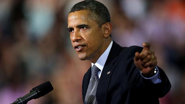 PHOTO: President Barack Obama delivers a speech at the University of Hartford, April 8, 2013, in West Hartford, Conn.