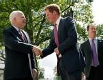 PHOTO: Prince Harry, John McCain