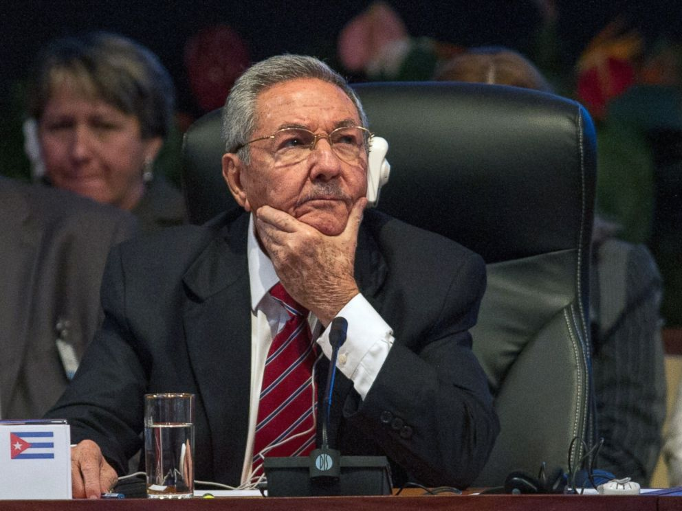PHOTO: Cuban President Raul Castro listens during the opening of the Caribbean Community (CARICOM) Summit, in Havana on Dec. 8, 2014.