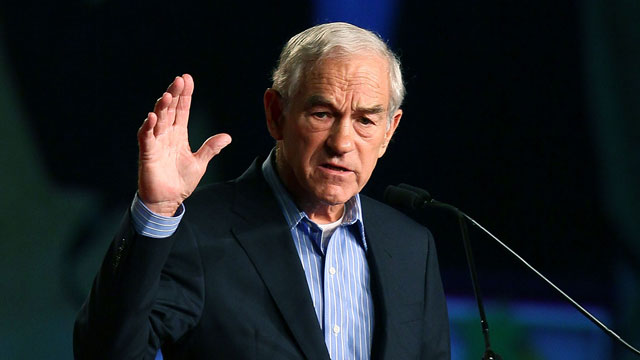 PHOTO: Rep. Ron Paul (R-TX), speaks at the Conservative Political Action Conference (CPAC), at the Orange County Convention Center, Sept. 23, 2011 in Orlando, Fla.