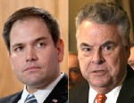 PHOTO: Sen. Marco Rubio, R-Fla., has drawn criticism from Rep. Peter King, R-N.Y., for how he supported Hurricane Sandy aid packages.
