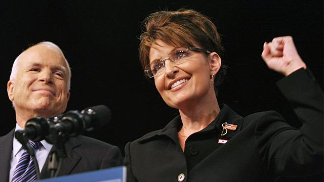 PHOTO: Sarah Palin and John McCain