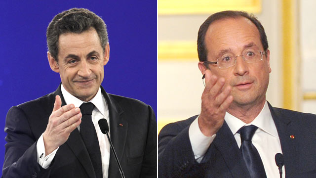 PHOTO: French President Francois Hollande speaks during a news conference at Elysee Palace, June 1, 2012 in Paris, France.