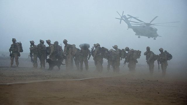 PHOTO: U.S. Marines in Afghanistan