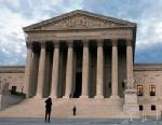 PHOTO: People visit the Supreme Court in Washington, DC.