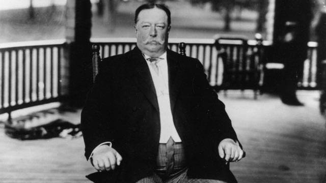 PHOTO: William Howard Taft, the 27th President of the United States.