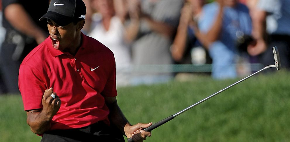 tiger woods effect  intimidation only works if we let it