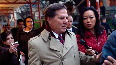 PHOTO: Former House majority leader Tom Delay leaves the Travis County Jail after being sentence to three years in prison.