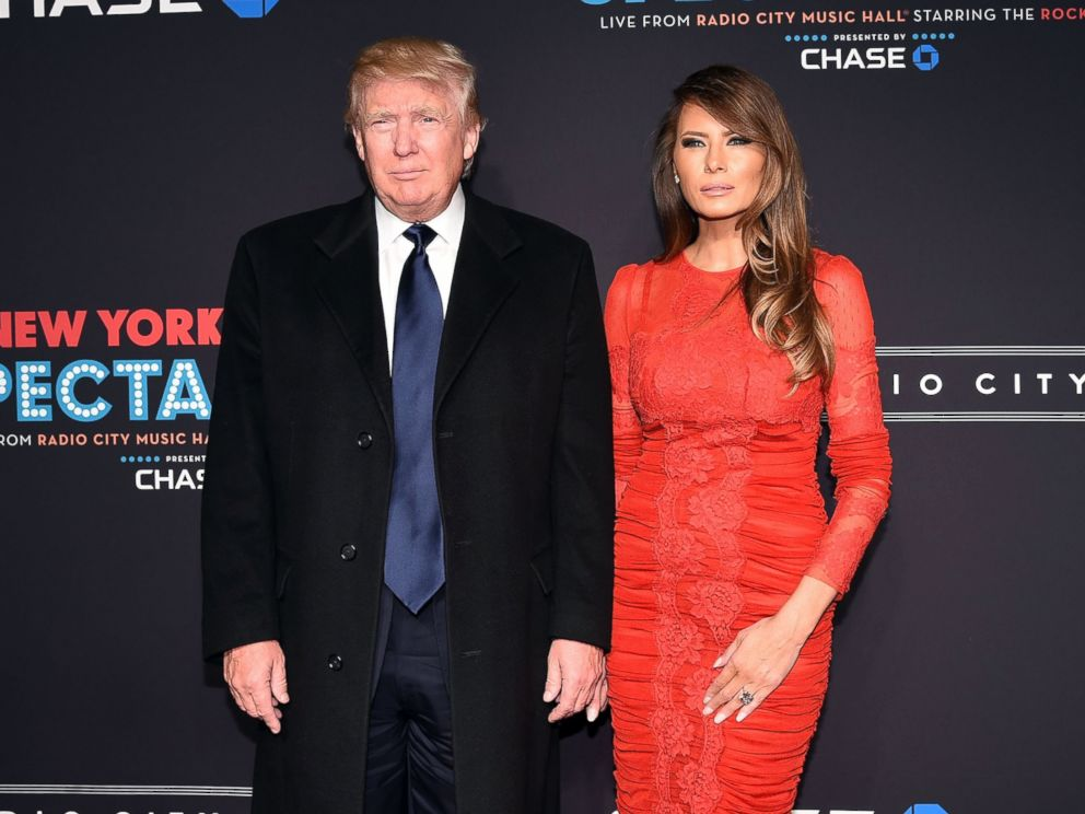 PHOTO: Donald Trump and Melania Trump attend the 2015 New York Spring Spectacular Opening Night at Radio City Music Hall on March 26, 2015 in New York.