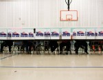 PHOTO: Voters cast their ballots in the general election November 6, 2012 at Earl Nance Sr. Elementary School in St. Louis, Mo.