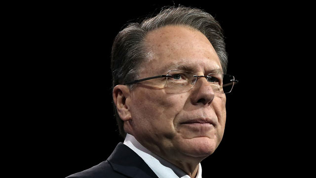 PHOTO: Wayne LaPierre, CEO of the National Rifle Association, delivers remarks during the second day of the 40th annual Conservative Political Action Conference (CPAC) March 15, 2013 in National Harbor, Md.