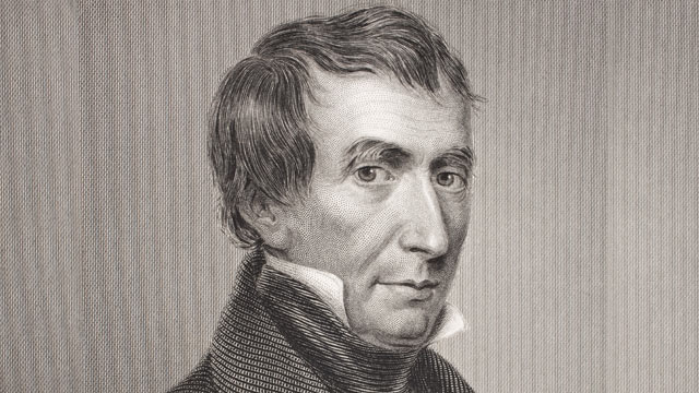 PHOTO: William Henry Harrison, 9th President of the United States of America.