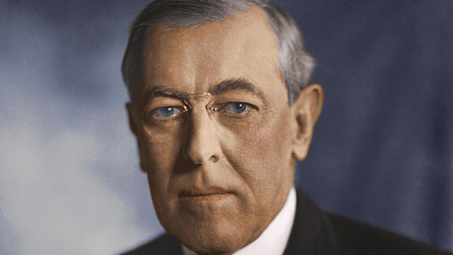 PHOTO: Woodrow Wilson