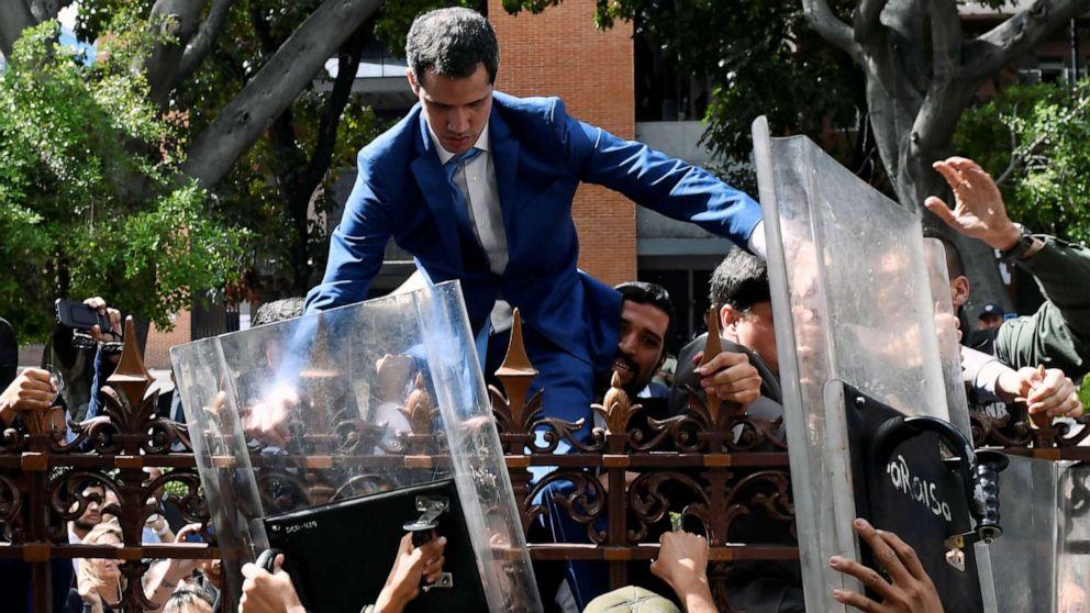 US-Sanktionen Venezolanischen Gesetzgeber vor Tag der Proteste