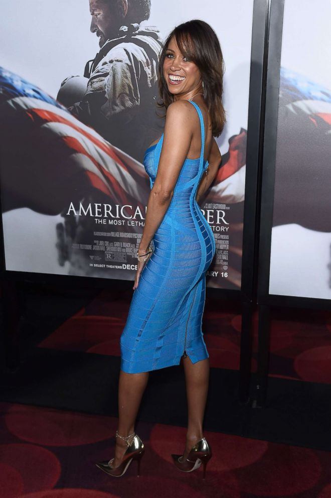PHOTO: Stacey Dash arrives at the American Sniper New York Premiere at Frederick P. Rose Hall, Jazz at Lincoln Center on December 15, 2014 in New York City.