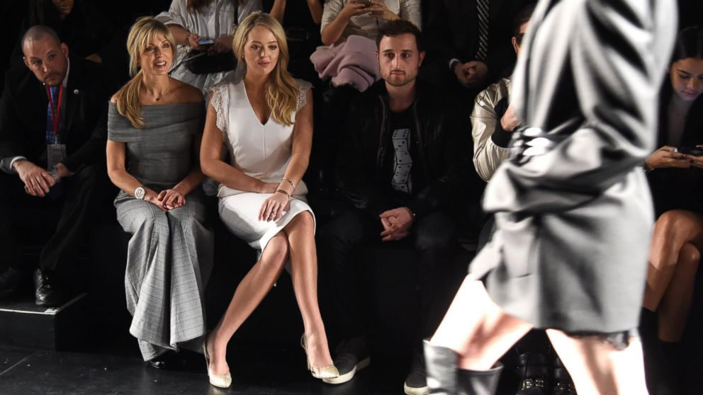 Tiffany Trump Gets Front Row Treatment At Chinese Designer S Ny Fashion Week Show Abc News
