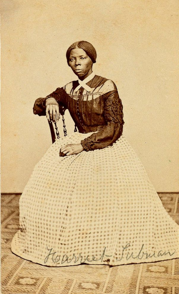 PHOTO: This undated file photo provided by Swan Auction Galleries shows a photograph of 19th century abolitionist Harriet Tubman.