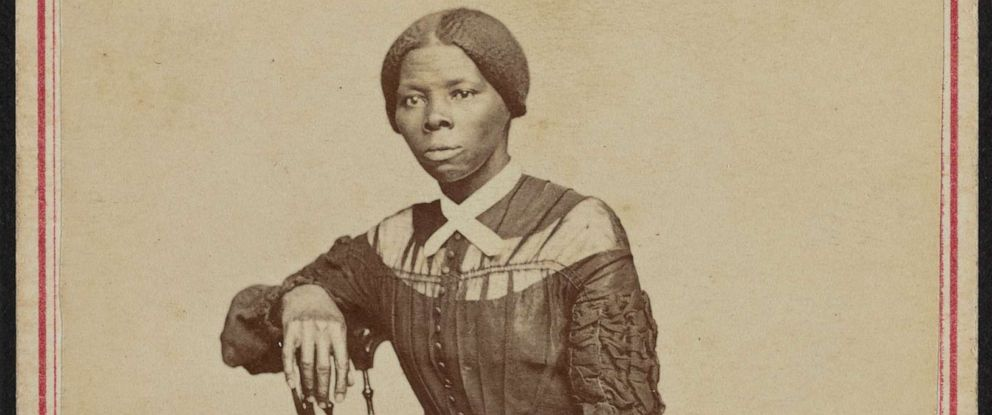 PHOTO: Portrait of Harriet Tubman, taken by Powelson Photographer at 77 Genessee St., Auburn. N.Y. in 1868.