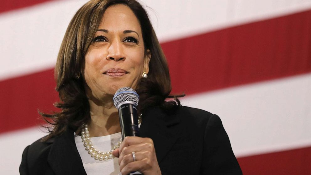 Kamala Harris slams conversation about being Biden's running mate thumbnail