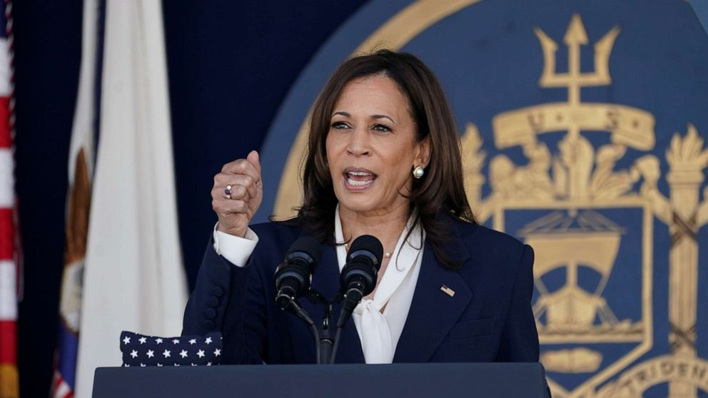 Vice President Kamala Harris Becomes First Female to Give Commencement Speech at U.S. Naval Academy's Commencement