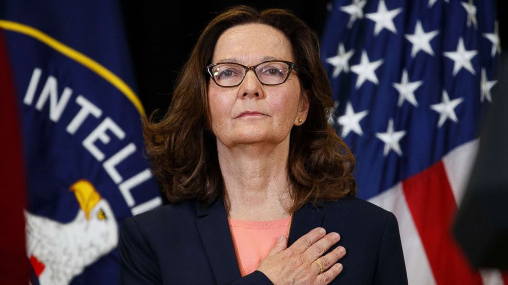 Image result for cia director gina haspel  does what trump tells her to do