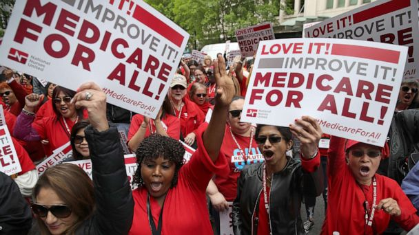 Activists say they're accepting nothing less than Medicare for all