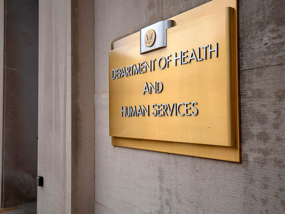 PHOTO: The US Department of Health and Human Services building is seen in Washington, DC, July 22, 2019.