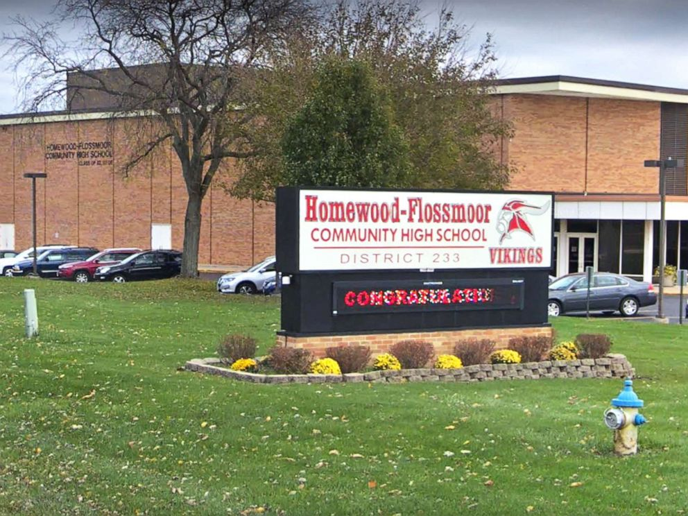 PHOTO: Homewood Flossmoor High School is pictured in this undated image from Google.