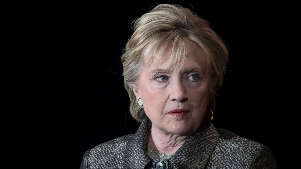 Hillary Clinton says Republicans 'grooming' a 2020 candidate for third-party run