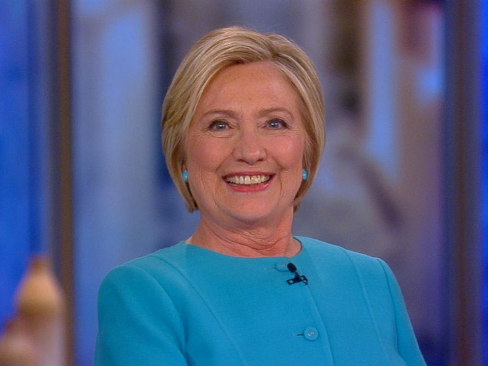 PHOTO: Hillary Clinton appears on The View, Sept. 13, 2017.