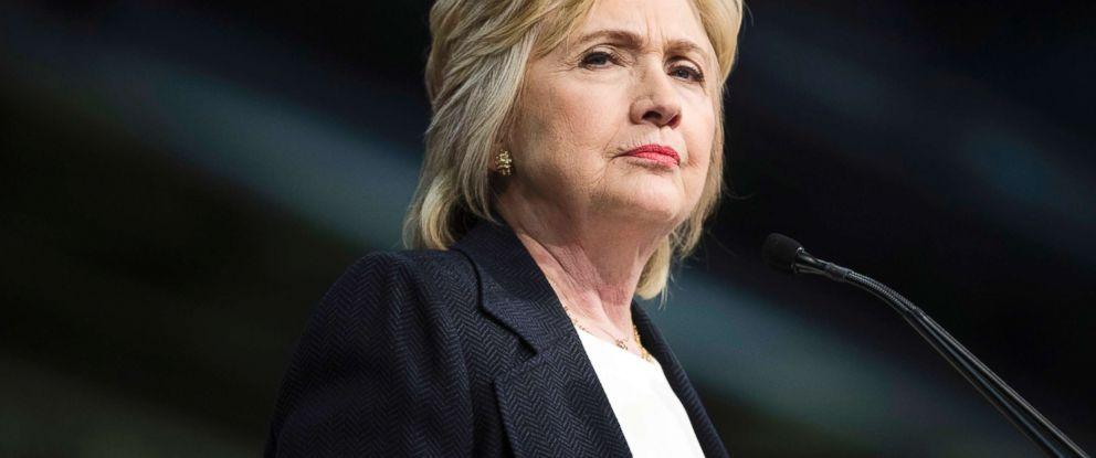 PHOTO: Hillary Clinton speaks in Philadelphia on July 8, 2016.