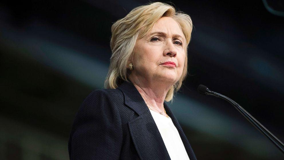 Hillary Clinton speaks in Philadelphia on July 8, 2016.