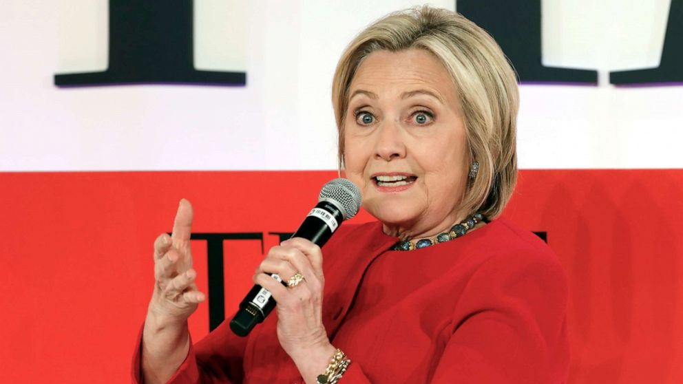 Clinton to Trump on 2020 run: 'Don't tempt me'