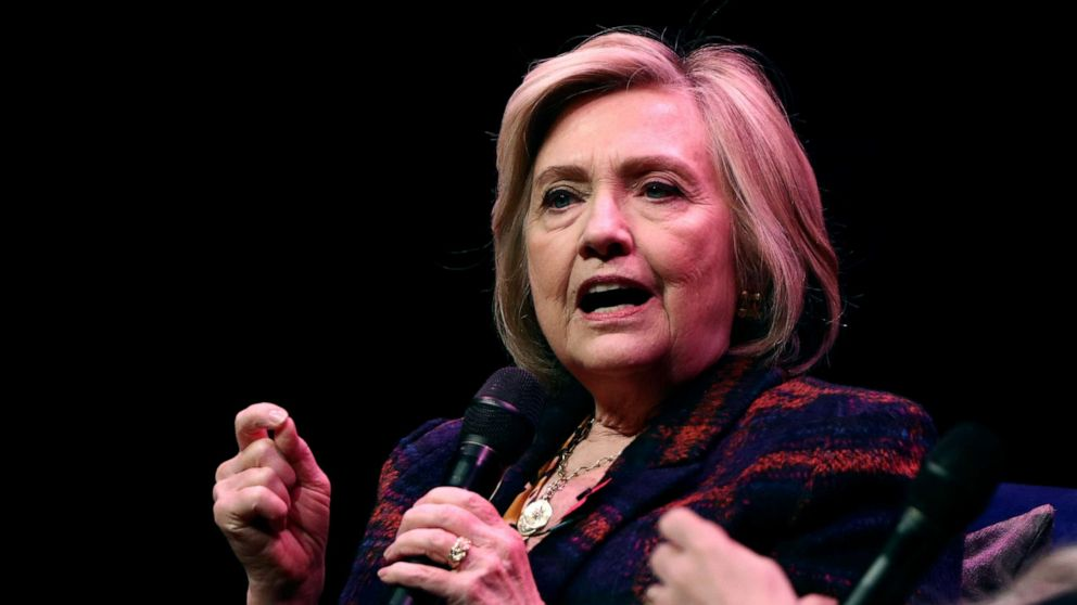 Hillary Clinton says she's under 'enormous pressure' to ...