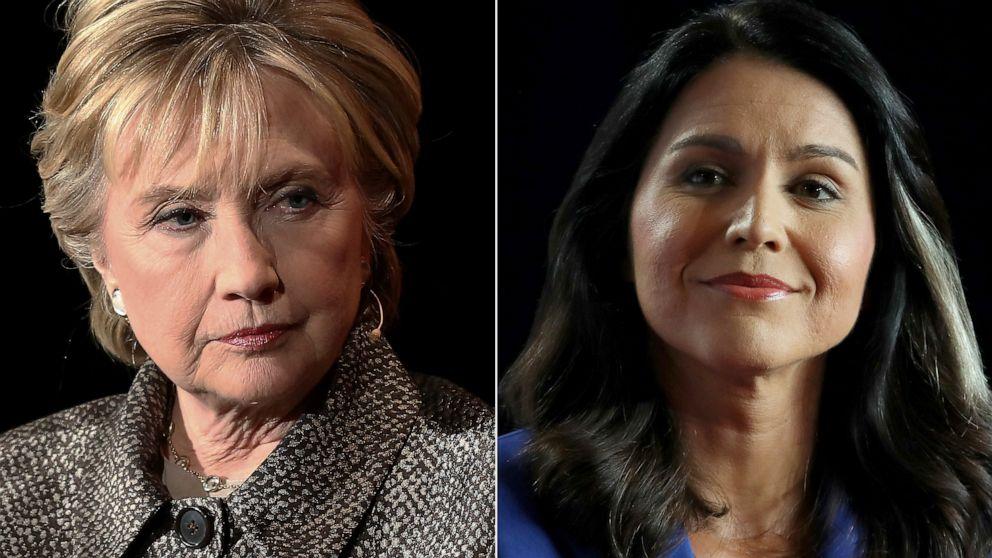 Rep. Tulsi Gabbard files defamation lawsuit against Hillary Clinton