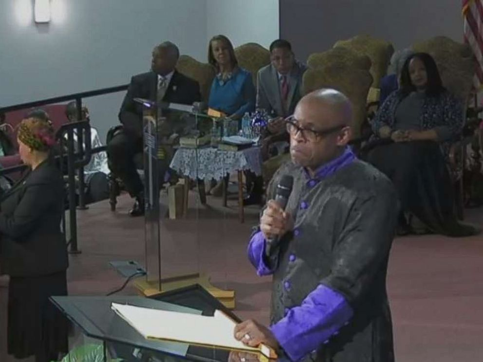 Maurice Watson was critical of Trumps comments on Haiti and Africa in his sermon on Jan. 14, as Vice President Mike Pence sat in the front pew.
